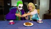 Frozen Elsa Gets BIG EARS spell! w  Joker Fairy Godmother Spiderman Superheroes Fun in real life | Superheroes | Spiderman | Superman | Frozen Elsa | Joker