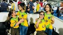 Shahid Afridi Wife _ Zareen Khan With Shahid Afridi's Daughters _ T10 League