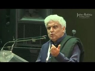 Poetry.. Javed Akhtar