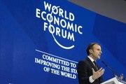 Discours du Président de a République, Emmanuel Macron au Forum économique mondial à Davos.