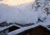Avalanche Blankets Swiss Ski Resort of Saas-Fee