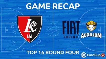7DAYS EuroCup Highlights Top 16, Round 4: Rytas 101-68 Fiat Turin