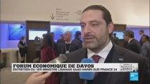 "Saad Hariri à Davos : ""les relations avec l''Arabie Saoudite sont excellentes"""