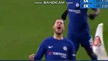 Eden Hazard Goal - Arsenal 0-1 Chelsea 24.01.2018