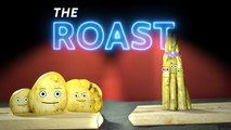 Who Will Win The Roast? Roasted Potatoes Or Roasted Asparagus?