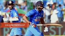 India Vs Australia 4th ODI : Rohit Sharma run Out, Fans angry on Virat Kohli