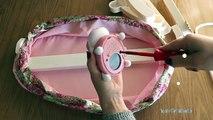 Baby Annebell Nursery Toys - Rocking Cradle 2-in-1 Wardrobe Sleeping Bag Highchair Pushchair