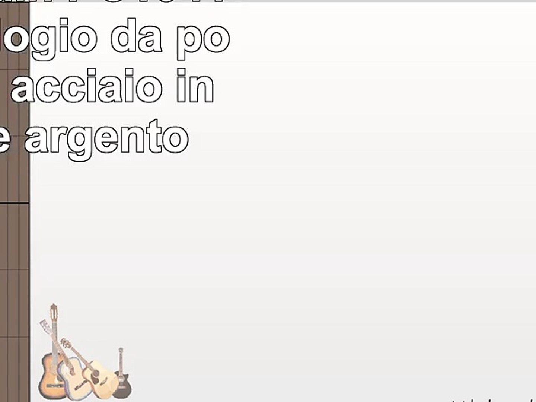 Pierre Cardin PC104192F02  Orologio da polso donna acciaio inox colore argento