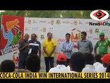 INDIA  U-17 National Cricket Team WIN COCA COLA  INTERNATIONAL SERIES 2014