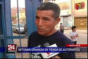 Sospechan que granada hallada en tienda de autopartes fue dejada por extorsionadores