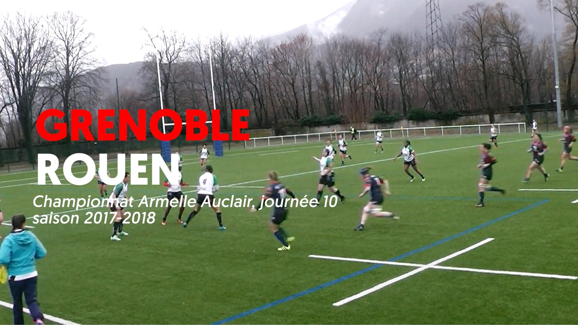 Amazones FCG - Rouen  : le résumé vidéo