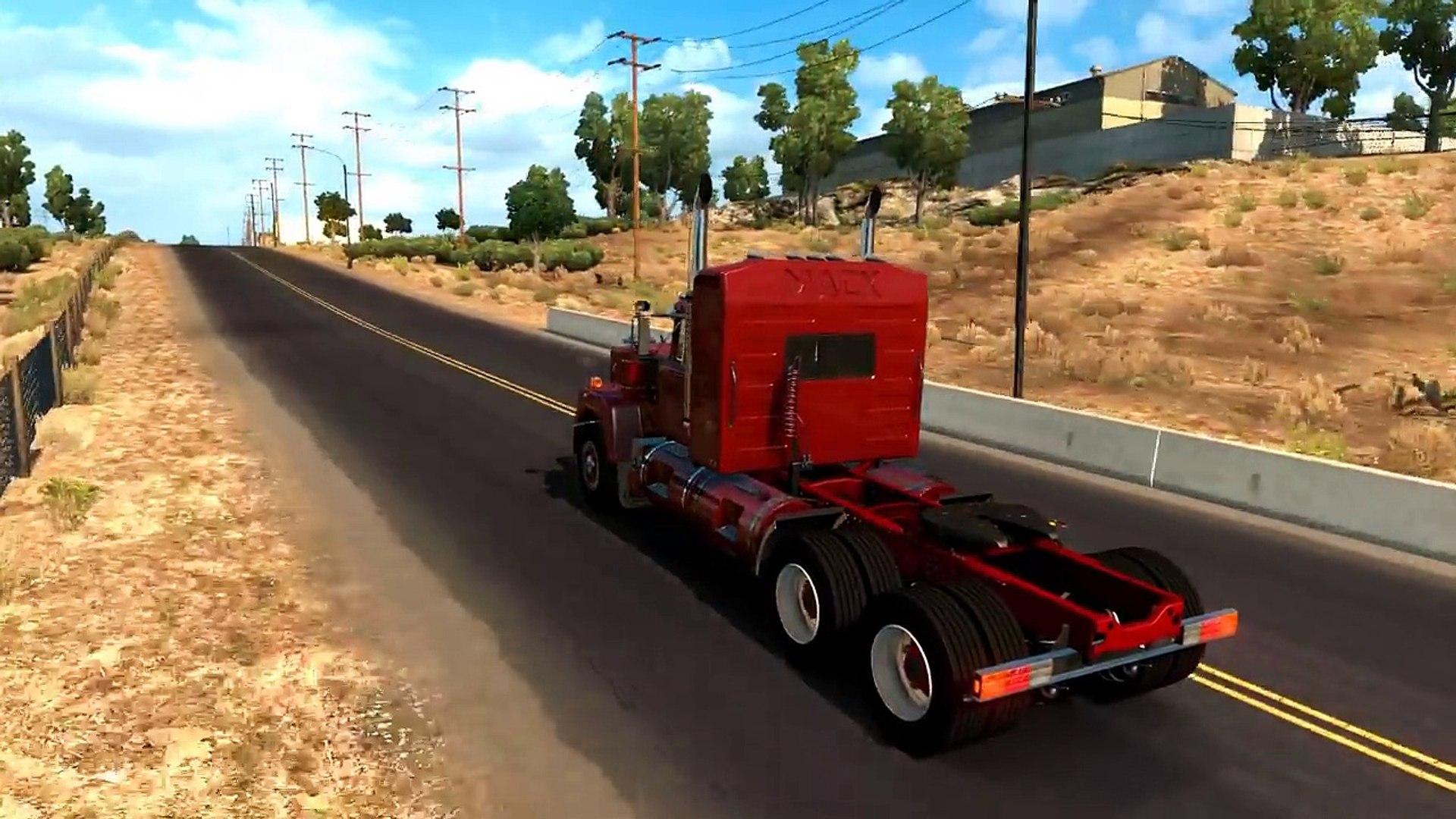 American Truck Simulator MACK SUPERLINER