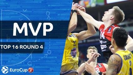Top 16 Round 4 MVP: Martynas Echodas, Lietuvos Rytas