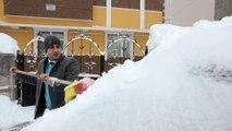 Kar yağışı etkisini artırdı - KARS
