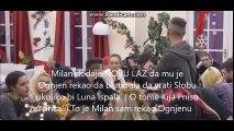 Pogledajte kako Milan Milosevic laze protiv Kije. Okrece pricu kako njemu odgovara