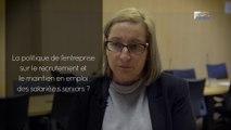 Questions à Anne-Laure METREAU (CFDT de CONVERS)  - emploi des séniors  - cese