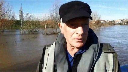 Lot-et-Garonne : sur le fleuve en crue avec les sauveteurs