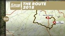 Parcours - La Flèche Wallonne 2018