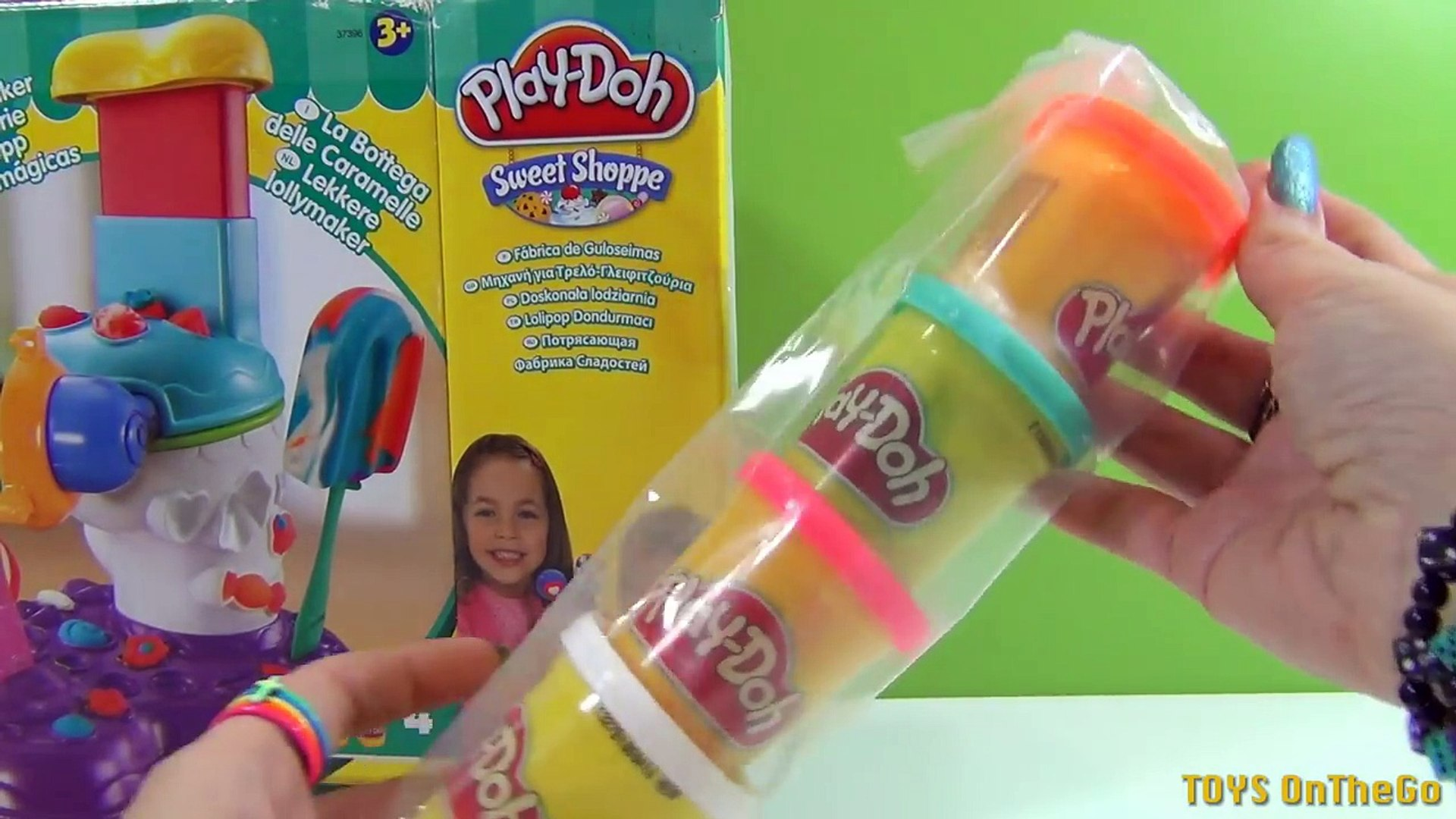 Play-Doh Golosinas Mágicas Perfect Pop Maker - Juguetes de Play-Doh