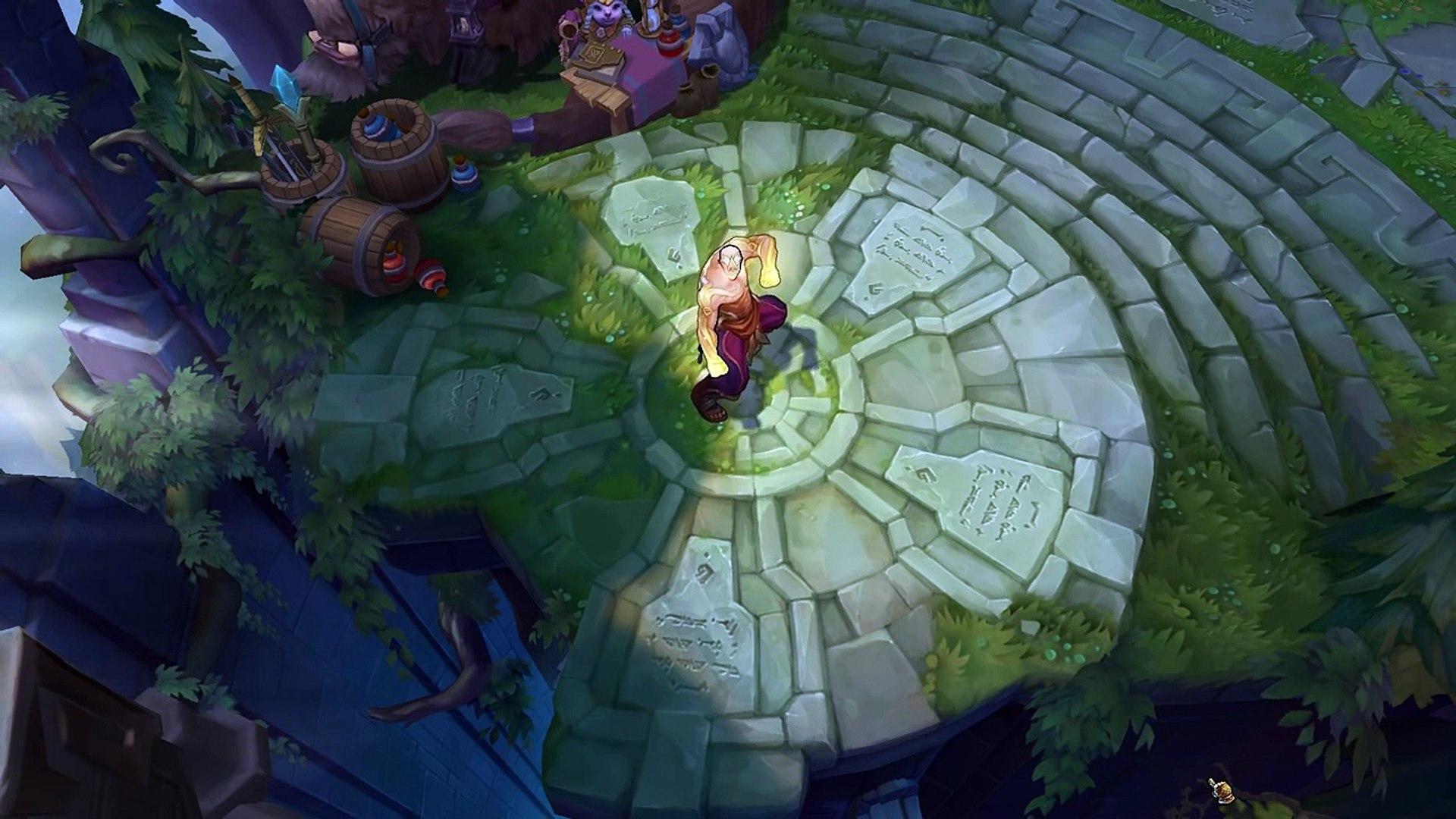 God Fist Lee Sin Skin Spotlight Pre Release League Of Legends