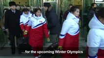 North Korean ice-hockey team arrives in South Korea