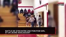 Un gymnaste et une pom-pom girl règlent leurs comptes avec des figures (Vidéo)