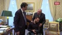 Colère dans les prisons / accompagnement des personnes handicapées - Sénat 360 (25/01/2018)
