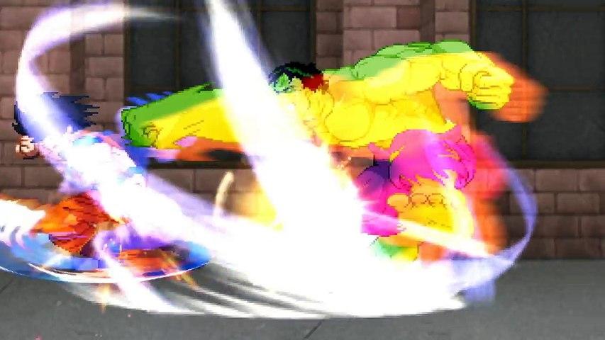 GOKU vs HULK! (Dragon Ball Z vs Marvel) CFC Episode 187