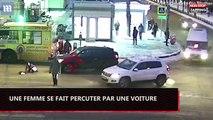 Russie : Une femme se fait renverser par une voiture dans l'indifférence totale (vidéo)