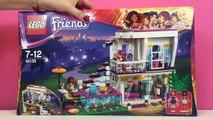 LEGO Friends Livis Pop Star House - Kids Toys Build Review