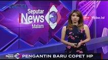 Terekam CCTV, Pengantin Baru Copet HP di Toko Batik