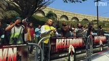GTA 5 WWE Mods - BROCK LESNARS HEROIC ESCAPE! (Grand Theft Auto V Mods)