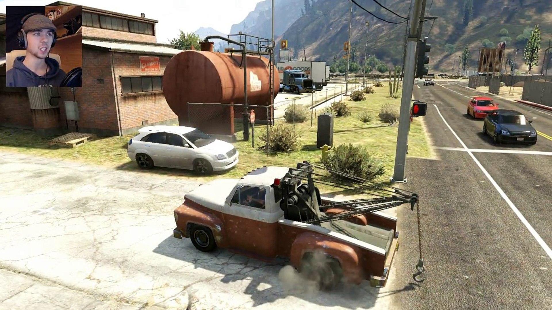 Gta 5 Tow Truck Cheat Ps4