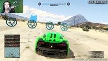GTA 5 ONLINE Crusher 3 - Wall Of Death ( Fun Custom Race ) GTA V MULTIPLAYER