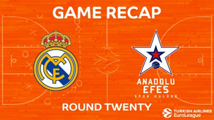 EuroLeague 2017-18 Highlights Regular Season Round 20 video: Madrid 87-68 Efes