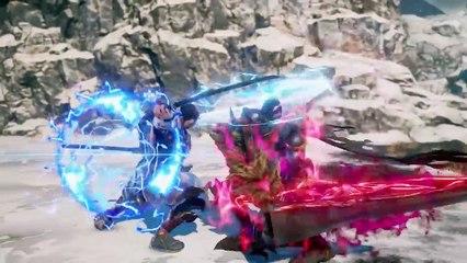 "Soulcalibur VI - Bande-annonce ""Grøh, Nightmare, Xianghua & Kilik"""