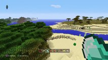 Minecraft PS4 Xbox One TU43 -10 DESERT TEMPLE 2 JUNGLE TEMPLE SEED!