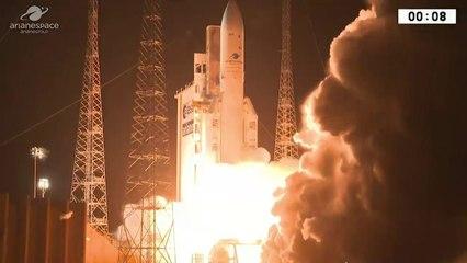 Décollage d'Ariane 5 VA241 (25/01/18) / Ariane 5 launch VA241 (25 January 2018)