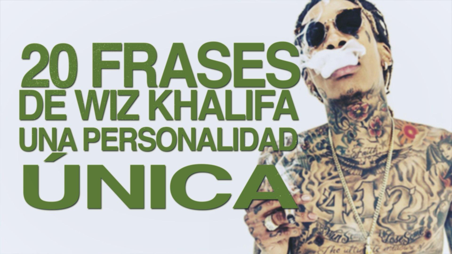 20 Frases De Wiz Khalifa Una Personalidad única