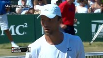 Ivo Karlovic Vs Gilles Muller - Newport 2016 Final (Highlights HD)