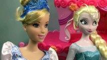 Disney Frozen Queen Elsa Speed Dating Princess Cinderella Part 22 Barbie Dolls Series Video
