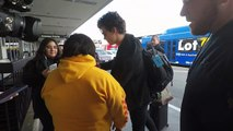 Canadian Singer Shawn Mendes Snaps Photos With Fans At LAX