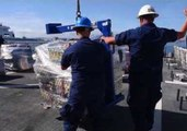 US Coast Guard Offloads 47,000 Pounds of Cocaine in California