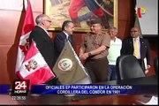 Oficiales son reconocidos por su participación en Operación Cordillera del Cóndor en 1981
