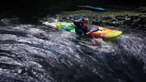 Extreme Kayaker Rides Rapids and Descends High Waterfall