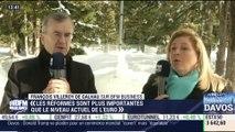 """""""L'Europe n'a pas d'objectif de change"""", François Villeroy de Galhau - 26/01"""