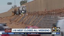 I-10 West closures scheduled for South Mountain Freeway work