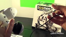 ZOOMER the Interive Robotic Toy Dog Review! Your Real Best Friend! by Bins Toy Bin