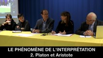 III. Le phénomène de l'interprétation, 2.2. Platon et Aristote, Hélène DEVISSAGUET