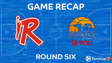 7Days EuroCup Highlights Regular Season, Round 6: Reggio Emilia 77-71 Buducnost